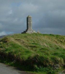 Monument at Finavarra to Donough Mór Ó Dálaigh